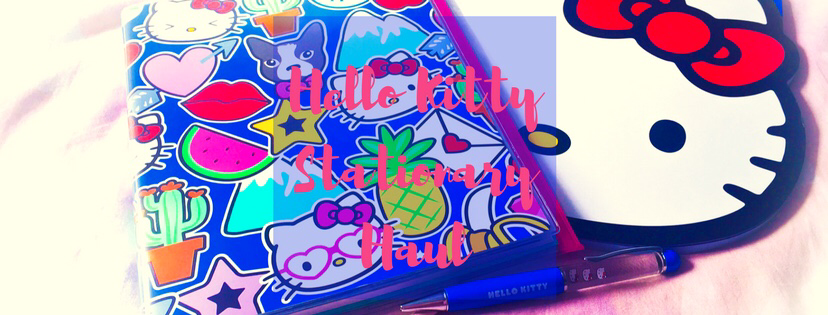 My Hello Kitty Stationary Haul